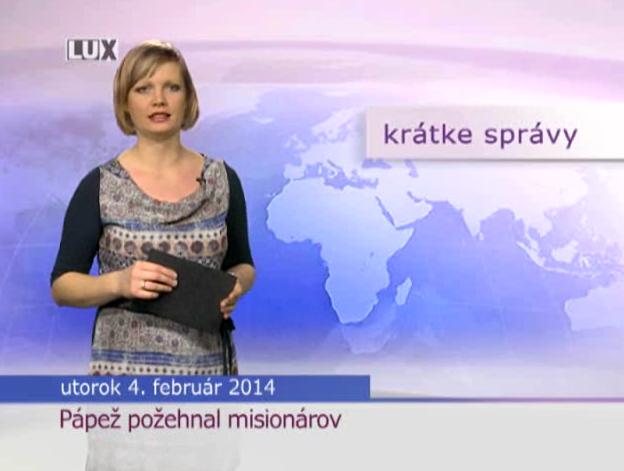 Krátke správy (956) - 04.02.2014