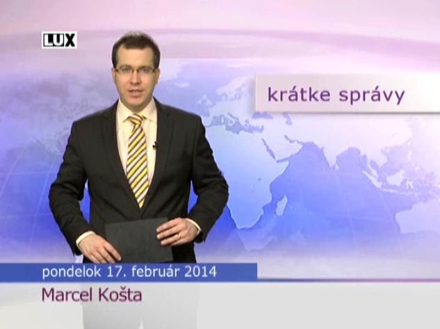 Krátke správy (963) - 17.02.2014