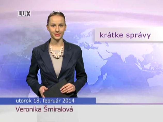 Krátke správy (964) - 18.02.2014