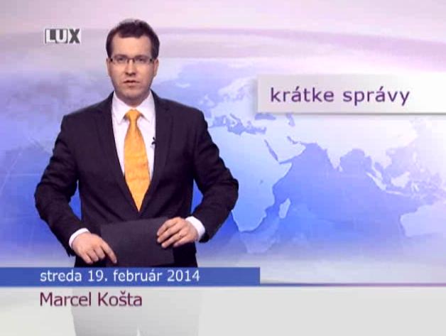 Krátke správy (965) - 19.02.2014
