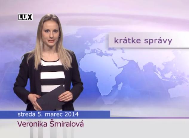 Krátke správy (973) - 05.03.2014