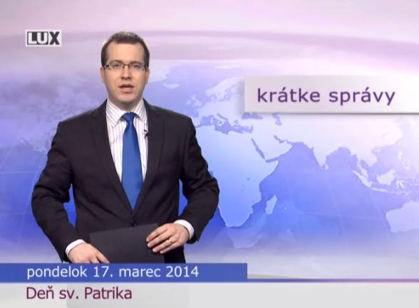 Krátke správy (979) - 17.03.2014