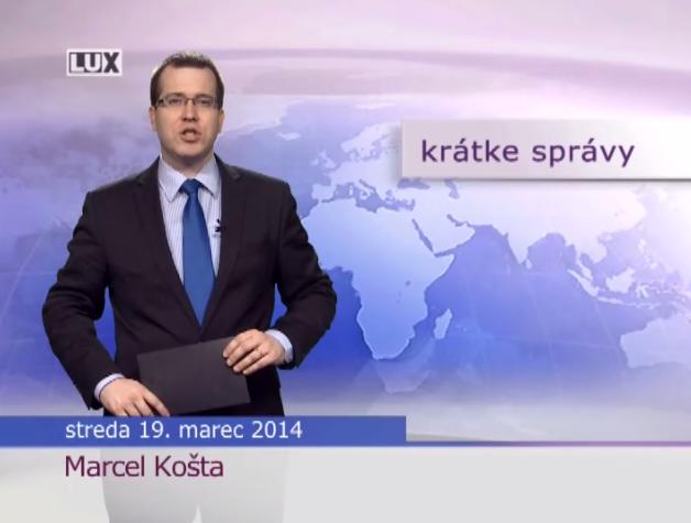 Krátke správy (981) - 19.03.2014