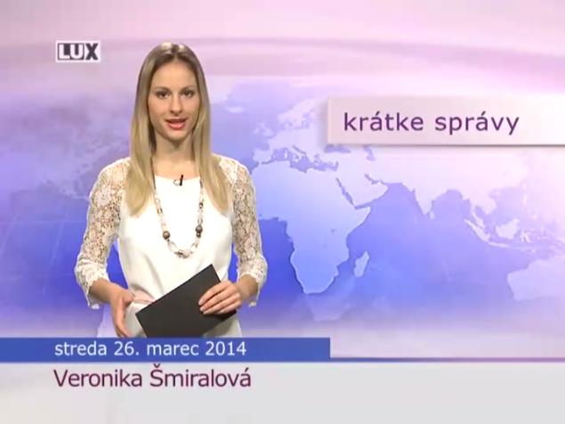 Krátke správy (985) - 26.03.2014