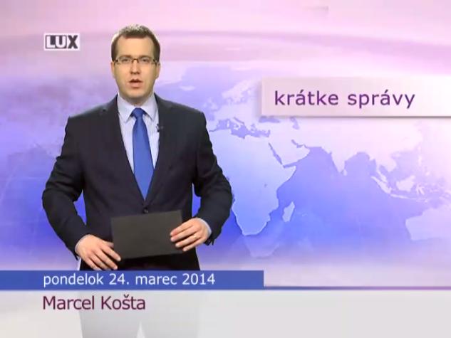 Krátke správy (983) - 24.03.2014