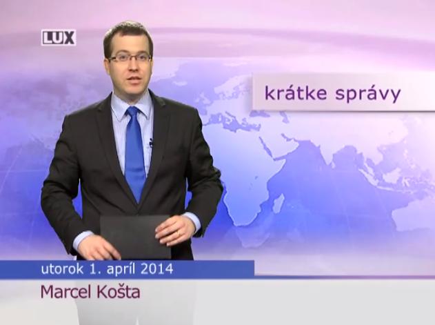 Krátke správy (988) - 1.04.2014
