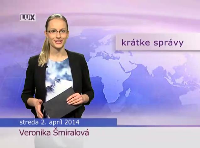 Krátke správy (989) - 2.04.2014