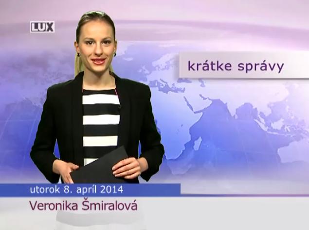 Krátke správy (992) - 8.04.2014