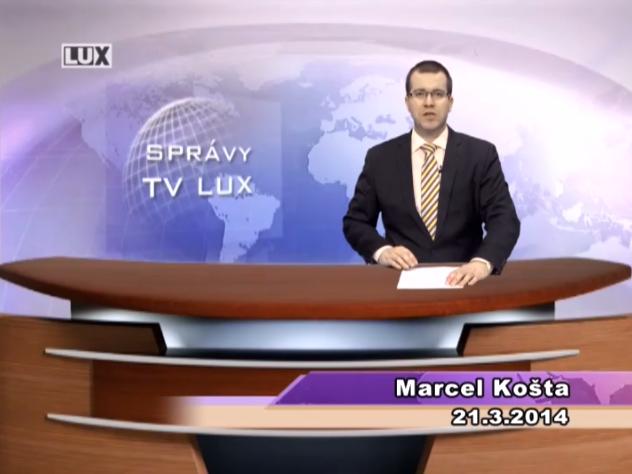 Spravodajský súhrn (21.03.2014)