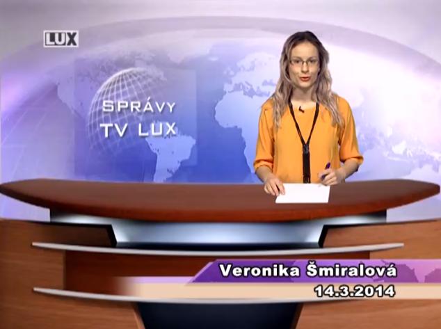 Spravodajský súhrn (14.03.2014)