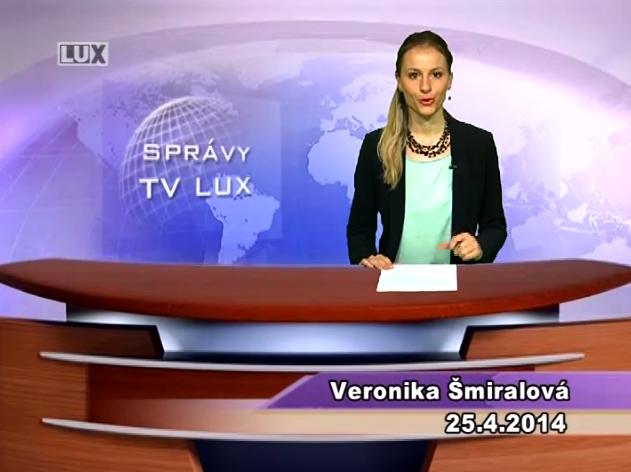 Spravodajský súhrn (25.04.2014)