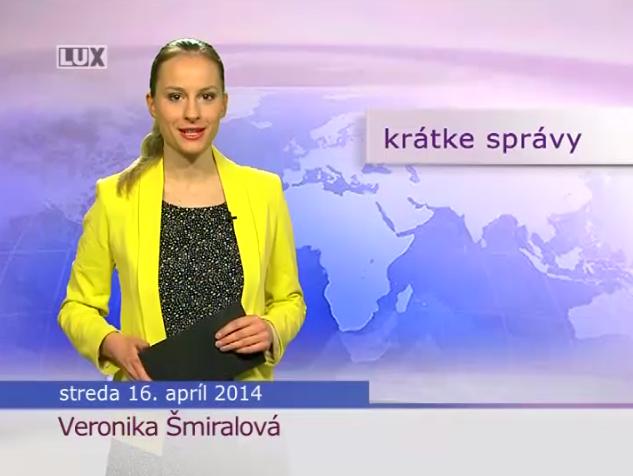 Krátke správy (997) - 16.04.2014