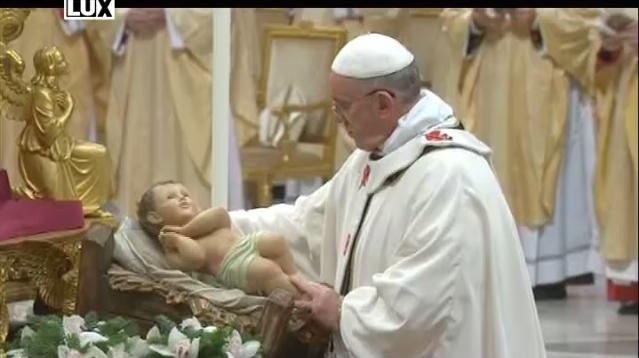 Vigília Narodenia Pána z Vatikánu