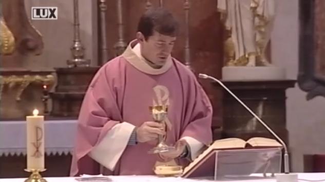 Svätá omša zo Šastína