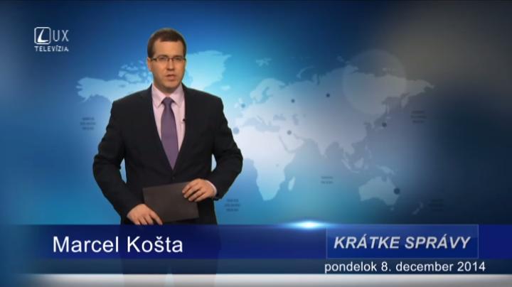 Krátke správy (08.12.2014)
