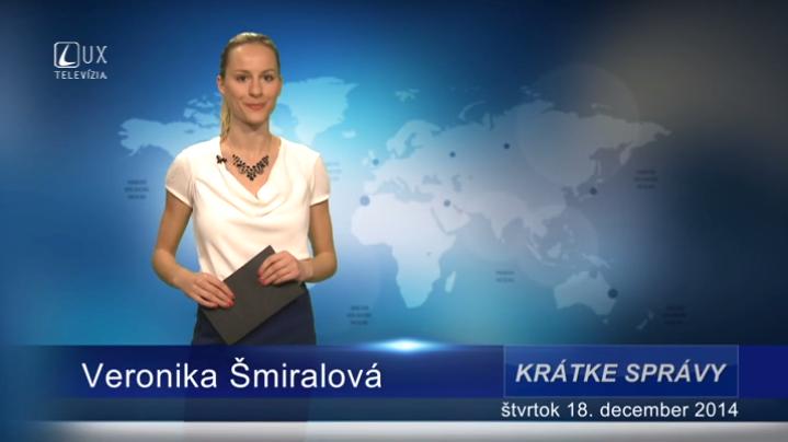 Krátke správy (18.12.2014)