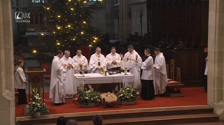Svätá omša na sviatok Narodenia Pána
