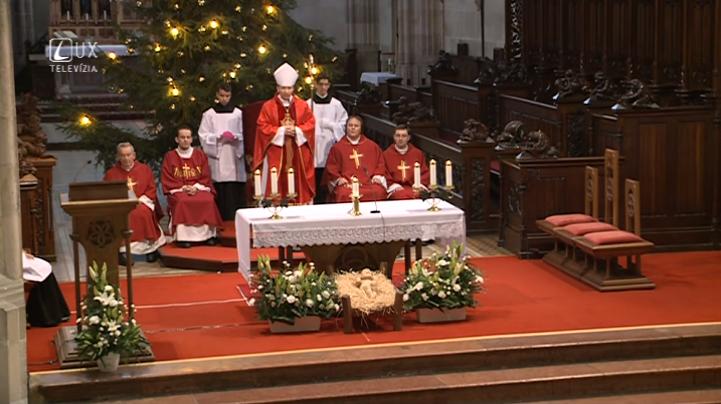 Svätá omša na sv. Štefana 2014