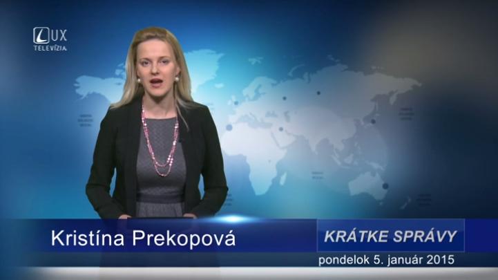 Krátke správy (05.01.2015)