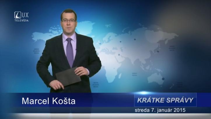Krátke správy (07.01.2015)