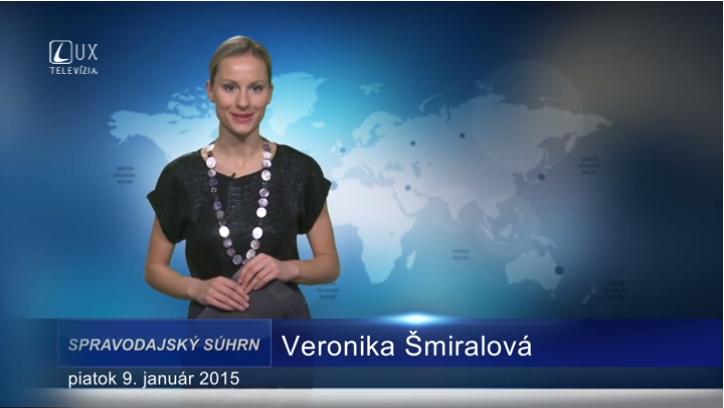 Spravodajský súhrn (09.01.2015)