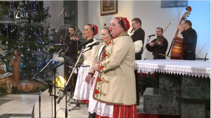 Záznam vianočného koncertu z Humenného