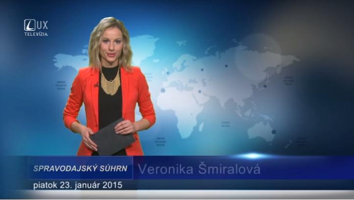 Spravodajský súhrn (23.01.2015)