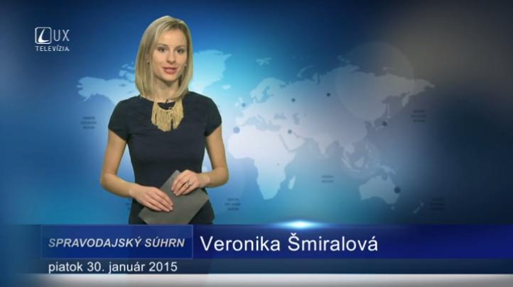 Spravodajský súhrn (30.01.2015)