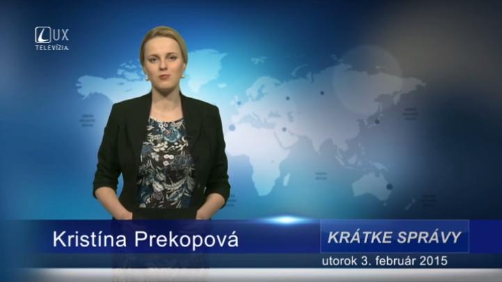Krátke správy (03.02.2015)