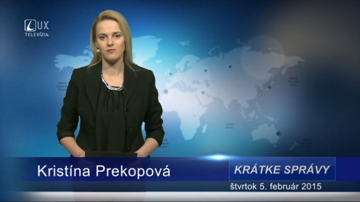 Krátke správy (05.02.2015)