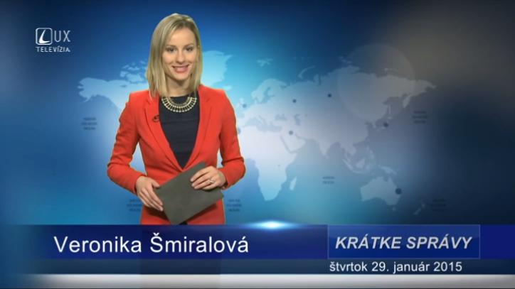 Krátke správy (29.01.2015)