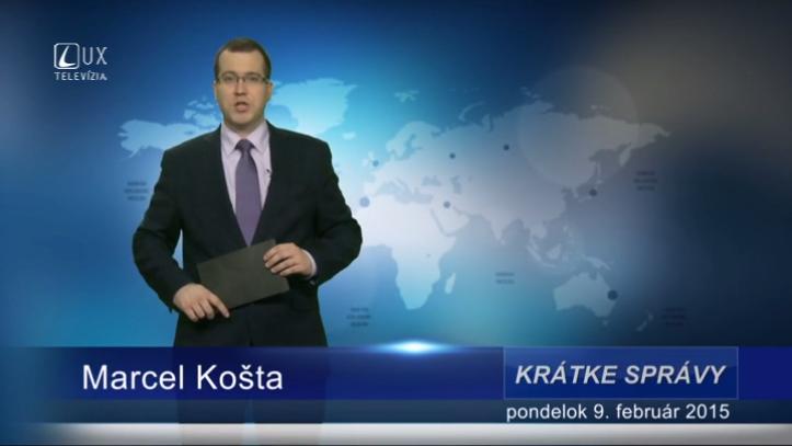 Krátke správy (09.02.2015)