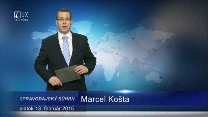 Spravodajský súhrn (13.02.2015)