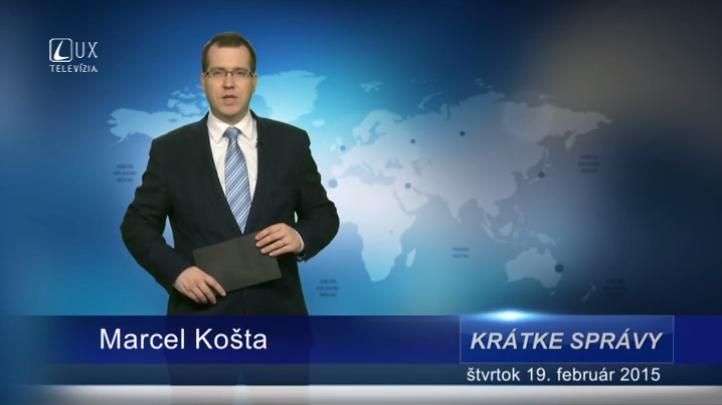 Krátke správy (19.02.2015)