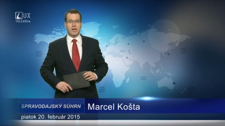 Spravodajský súhrn (20.02.2015)