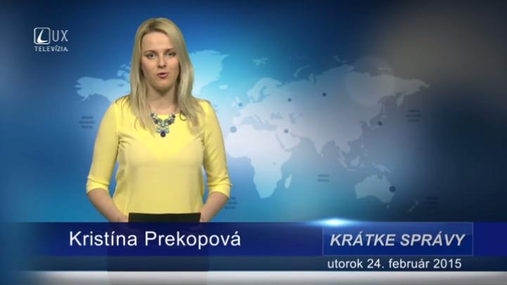 Krátke správy (24.02.2015)