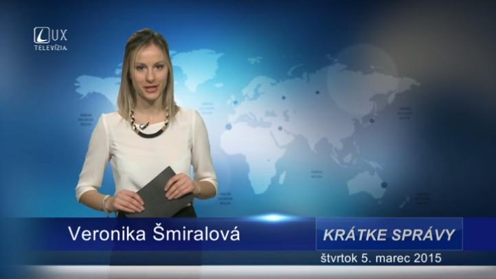 Krátke správy (05.03.2015)