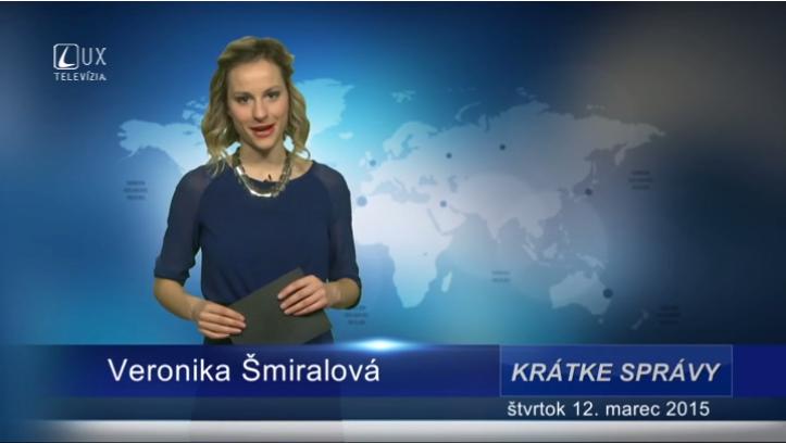 Krátke správy (12.03.2015)