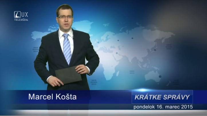 Krátke správy (16.03.2015)