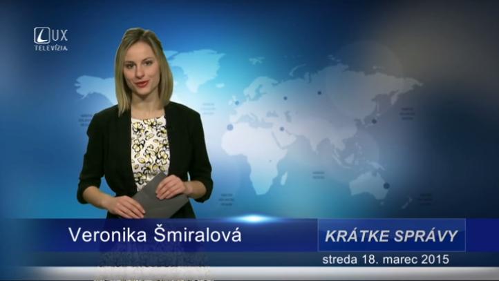 Krátke správy (18.03.2015)