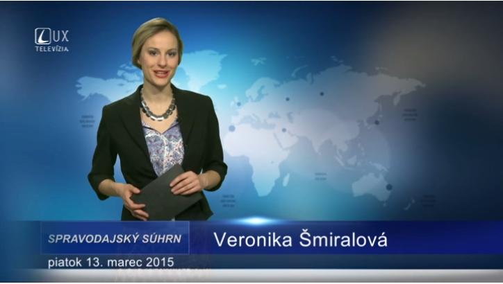 Spravodajský súhrn (13.03.2015)