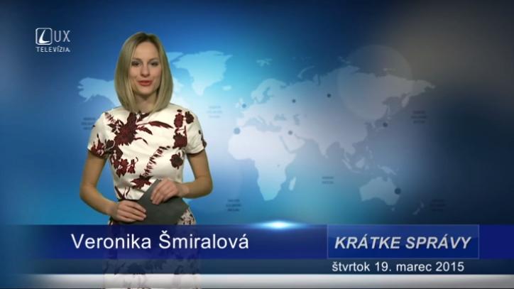 Krátke správy (19.03.2015)