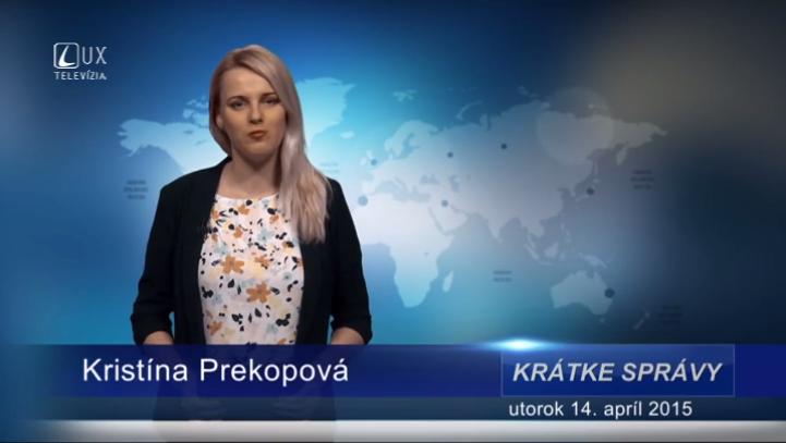 Krátke správy (14.04.2015)