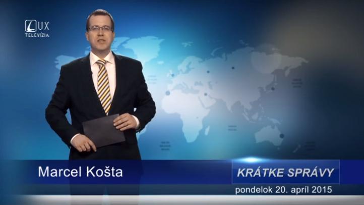 Krátke správy (20.04.2015)