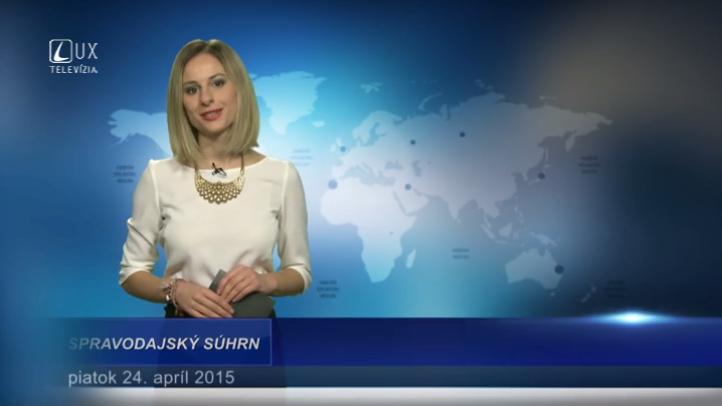 Spravodajský súhrn (24.04.2015)
