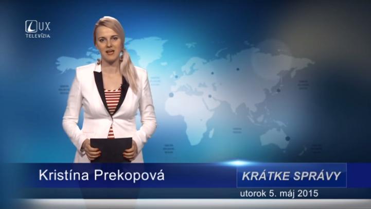 Krátke správy (05.05.2015)