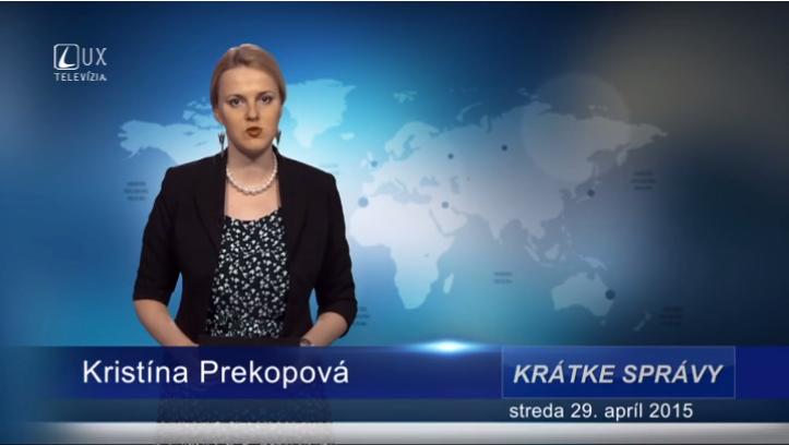 Krátke správy (29.04.2015)