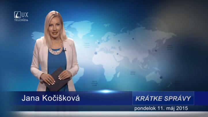 Krátke správy (11.05.2015)