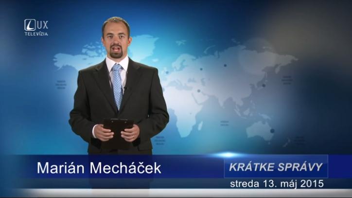 Krátke správy (13.05.2015)