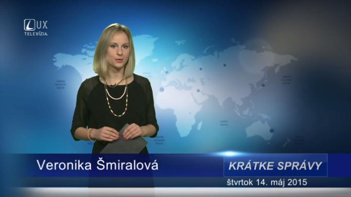 Krátke správy (14.05.2015)